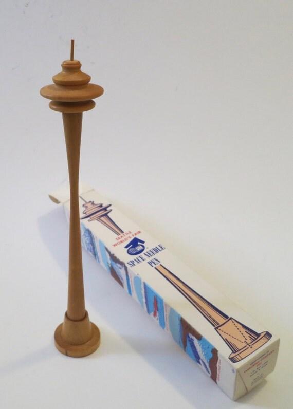 Souvenir pen for the 1962 Seattle Worlds Fair