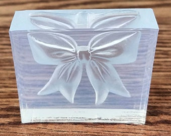 Bow Mold-Girl Mold-SugarPaste-Soap-Plaster-Cold Porcelain-Gumpaste-Chocolate-Polymer Clay-Hard Candy-Resin-Ice-Candle Making-Butter-Plaster!