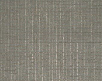 Loominous by Anna Maria Horner for Free Spirit - Illuminated Graph in Metallic Fog