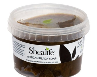 African Black Soap,  RAW PASTE, 250g