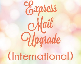 International Express Mail Shipping Upgrade