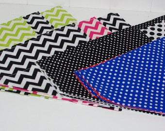 Bandanas, double sided, reversible to suit 25mm collar