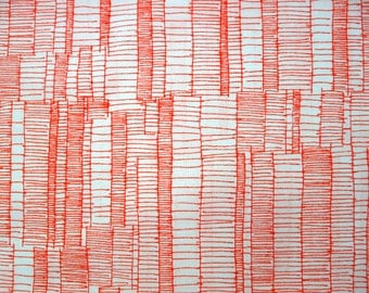 Fabric - Robert Kaufman- Carolyn Friedlander- graphic lines - cotton print.
