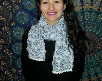 Winter Snowball Fight Scarf