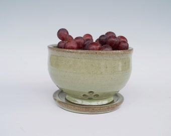 Small Berry Bowl + Plate