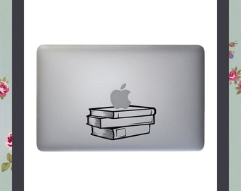 Teachers Pet, Stack of Books, Macbook Decal, Apple Macbook, Laptop Stickers, iPad Decal, iPad Stickers, Best Teacher, Learning Assistant