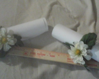 Beautiful White Napkin Rings Set
