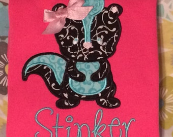 Skunk Applique Shirt