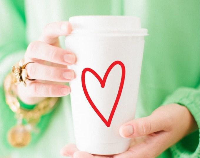 Love! Coffee Cups (Qty 10)