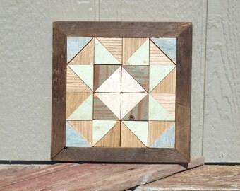 wooden barn star quilt block rustic decor
