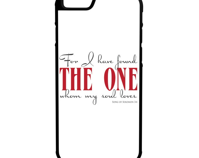 Song of Solomon iPhone Galaxy Note LG HTC Hybrid Rubber Protective Case Bible Scripture