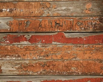 Faded Old Wood Photography Backdrop, Peeling wood planks photo background for photoshoots, vinyl photography drops D-8666