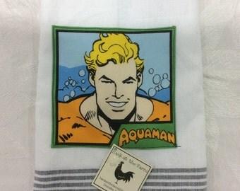 Aquaman tea towel