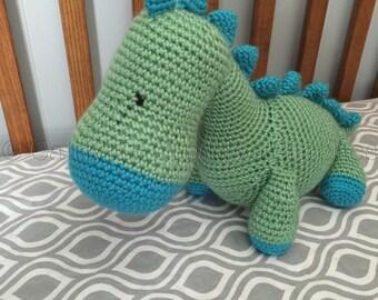 Crocheted Dinosaur ~ Dinosaur Toy