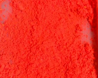 UV red orange pigment