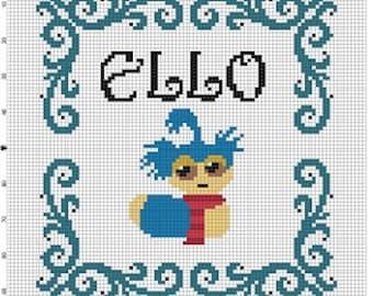 Ello Labyrinth - Cross Stitch Pattern - Instant Download