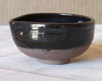 Indigo Seas Sauce bowl in stoneware