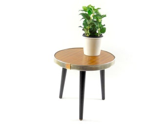 Mid Century Atomic Age Tripod // Coffee Table // Plant Stool // Germany 1950s