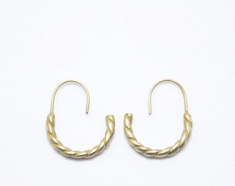 PETRA n.2 // Bronze Earrings