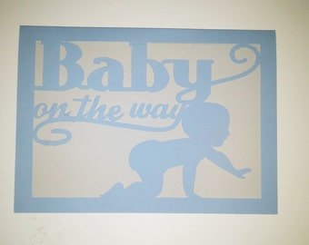 Baby On the Way Greeting Card