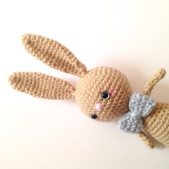 Amigurumi Bunny Toy Rabbit Crochet Bunny Plush by AmiAmiGocco