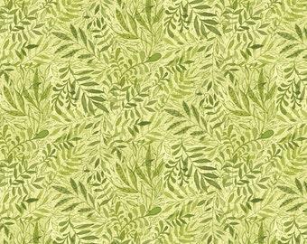 Garden Girls by Cori Dantini 112112.04.1 Half Yard (leaves,  spring, garden,green)
