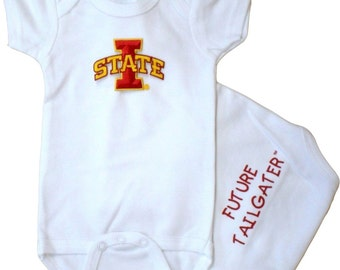 Iowa State Cyclones Future Tailgater Baby Bodysuit