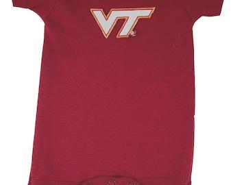 Virginia Tech Hokies Team Spirit Baby Bodysuit