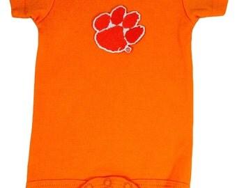 Clemson Tigers Team Spirit Baby Bodysuit