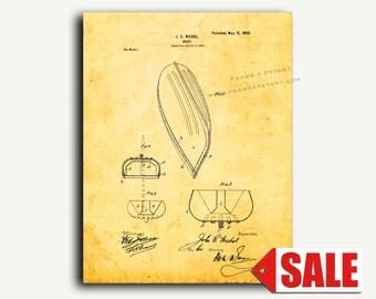 Patent Art - Boat Patent Wall Art Print