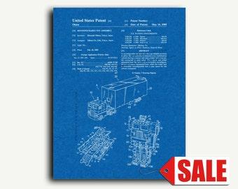 Patent Print - Transformers Optimus Prime Patent Wall Art Poster Print