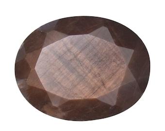 Chocolate Sapphire Loose Gemstone Oval Cut 1A Quality 9x7mm TGW 2.15 cts.