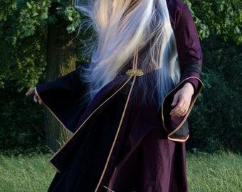 Sorceress's Overcoat - Larp, Magic, Fantasy, Elven Mystery.