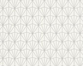 Modern Geometric Fan Wallpaper R4394