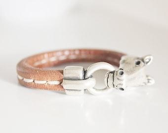 Horse Bracelet, Horse Jewelry, Western Jewelry Cowgirl, Equestrian Bracelet, Silver Horse Bracelet. Pulseira cavalo. Cheval.