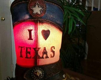 I love texas lamp