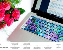 Macbook Keyboard Stickers Macbook Pro Skin Keyboard Cover sticker macbook decal stickers macbook air keyboard macbook Frozen galaxy # Frozen