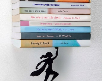 Wonder Woman bookend-  Designed Bookends -bookend -   Book Accessories