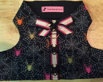 Halloween Dog Harness, Size Medium