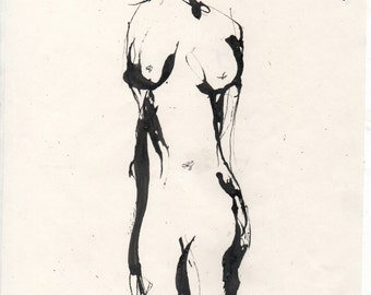 Woman Original Artwork Print