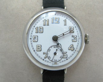 Vintage Hard to find Lecoultre Watch by ALexora Watch Co.