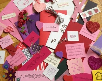 DIY Love You Card Kit