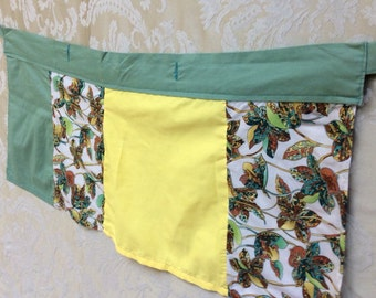 Handmade tie wrap skirt for 4-7 year old