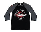 Indiana Jones Lao Che Air Freight Unisex 34 Sleeve Baseball Tshirt