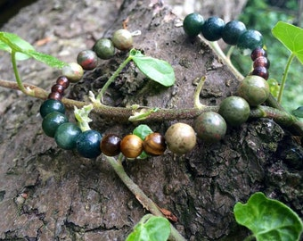 Earthen Soul - bead bracelet
