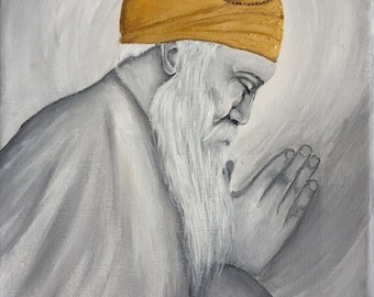 painting of Guru Nanak Dev Ji