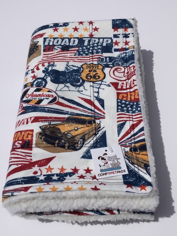 Route 66 Blanket Made In Colorado Patriotic Gifts Dog