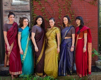 Bridesmaid Saree Dresses