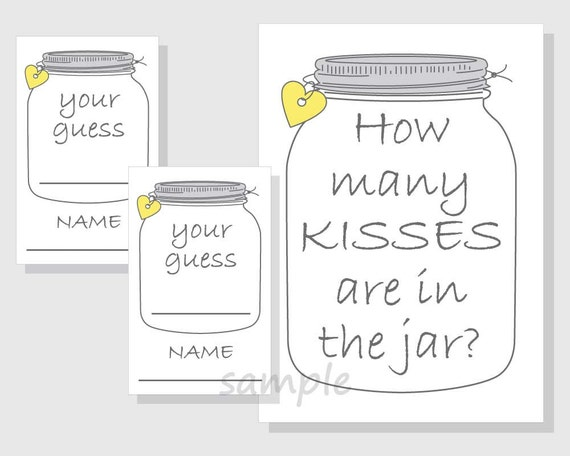 It's just a photo of Lively Guess How Many in the Jar Printable