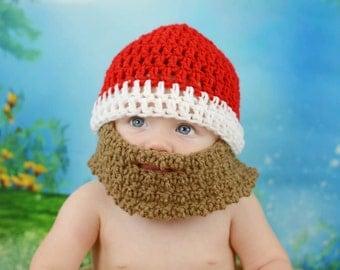 Baby Beard Beanie, Baby Beard Hat, Lumberjack Hat, Bearded Hat, Bearded Beanie, Toddler Beard Hat, Boys Beard Hat, Baby Shower Gift